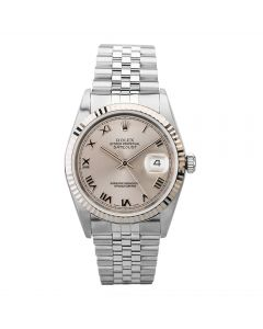 Second Hand Rolex Mens Oyster Perpetual Datejust Watch 16234(13363) - Year 2005
