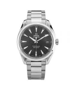 Second Hand Omega Seamaster Aqua Terra Black Bracelet Watch 231.10.42.21.01.003