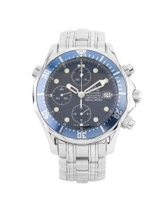 Second Hand Omega Seamaster Professional Blue Bracelet Watch 178.0514