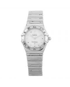Second Hand Omega Constellation Silver Bracelet Watch 795.1243