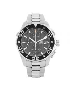 Second Hand TAG Heuer Aquaracer Black Bracelet Watch CAJ2110.BA0872