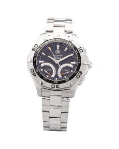 Second Hand TAG Heuer Mens Aquaracer Calibre S Black Bracelet Watch CAF7010.BA0815