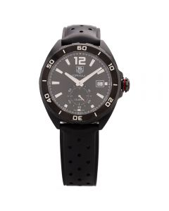 Second Hand TAG Heuer Mens Formula 1 Calibre 6 Automatic 41mm Black Rubber Strap Watch 4409102