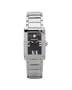 Second Hand Mont Blanc Limited Edition Profile Elegance Diamond Bracelet Watch 101559
