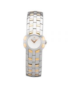 Second Hand Maurice Lacroix Ladies Intuition Two Tone Bracelet Watch 59858