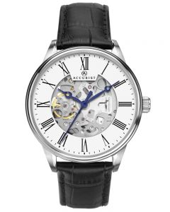 Accurist Men Automatic Skeleton Watch 7701