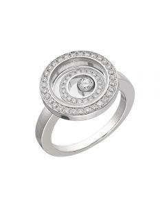 Chopard 18ct White Gold Happy Spirit Diamond Ring (M) 828230-1010