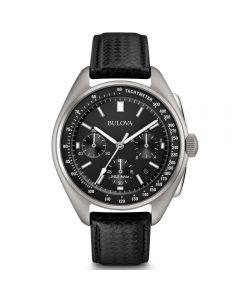Bulova Mens Luna Pilot Special Edition Moon Watch Watch 96B251