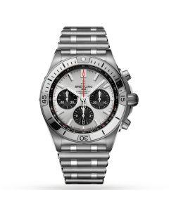 Breitling Chronomat B01 42mm Mens Watch AB0134101G1A1