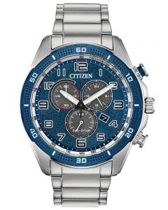 Citizen Mens Sports Chronograph Watch AT2440-51L