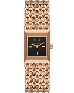 Armani Exchange Ladies Rose Gold Tone Watch AX5910