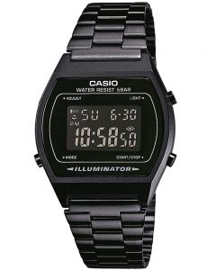Casio Vintage Collection Black Bracelet Watch B640WB-1BEF