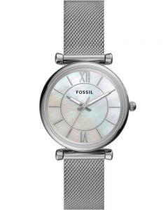 Fossil Ladies Carlie Mesh Bracelet Watch ES4919