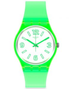 Swatch Mens Electric Frog Watch GG226