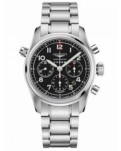 Longines Mens Spirit Chronometer Automatic Bracelet Watch L38204536