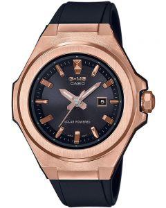Casio Ladies Baby G Solar Strap Watch MSG-S500G-1AER