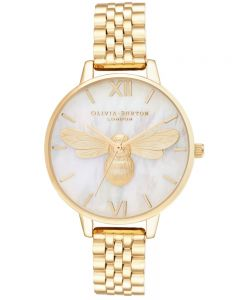 Olivia Burton Ladies Lucky Bee Bracelet Watch OB16FB18