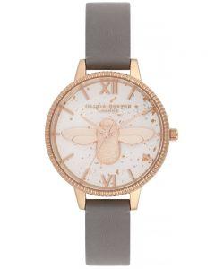 Olivia Burton Ladies Sparkle Bee Bracelet Watch OB16GD06