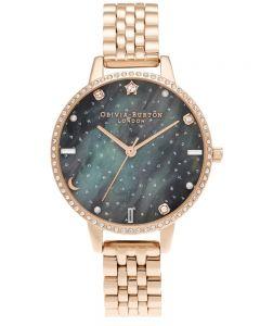 Olivia Burton Ladies Glitter Dial Bracelet Watch OB16GD66