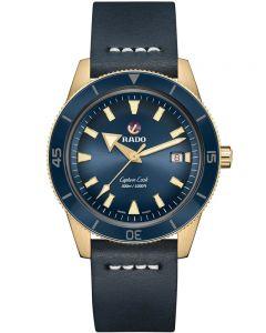 Rado Mens Captain Cook Strap Watch R32504205