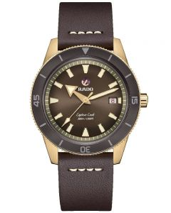 Rado Mens Captain Cook Strap Watch R32504306