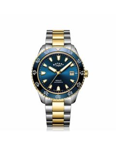Rotary Mens Henley Automatic Blue Watch GB05131/05