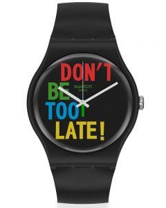 Swatch Mens Timefortime Strap Watch SO29B100
