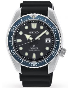 Seiko Mens Prospex Sea Automatic Black Rubber Strap Watch SPB079J1