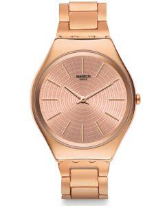 Swatch Ladies Goldtralize Bracelet Watch SYXG110G