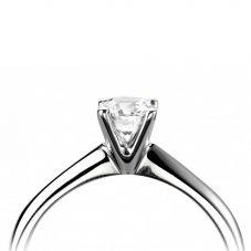 Platinum 4 Claw Solitaire Ring RI-1102B(.25CT PLUS)