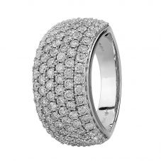 9ct White Gold 2.00ct Diamond Pavé Ring SKR2910-200 9K