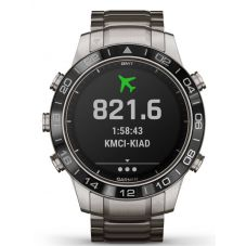 Garmin Marq Aviator Titanium Bracelet Watch 010-02006-04
