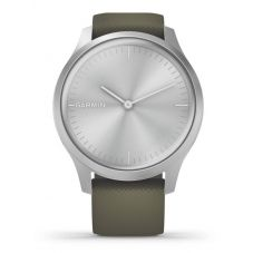 Garmin Vivomove Style Green Rubber Strap Watch 010-02240-01