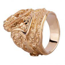 9ct Gold Large Saddle Ring PR1642 X