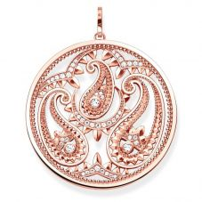 THOMAS SABO Ladies Rose Gold Paisley Pendant PE728-416-14