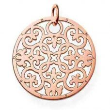 Thomas Sabo Rose Gold Plated Arabesque Pendant PE431-415-12
