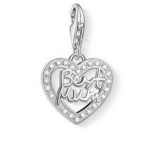 Thomas Sabo Silver Best Mum Charm 1309-051-14