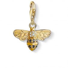 THOMAS SABO Silver Gold Plated Bee Charm 1449-414-39