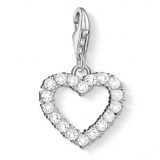 THOMAS SABO Silver Open Work Heart Charm 1482-051-14