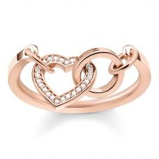 Thomas Sabo Together Heart Ring TR2142-416-14-54