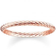 Thomas Sabo Ladies Glam And Soul Rose Gold Ring TR2121-415-12