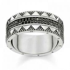 Thomas Sabo Ladies Beaded Ring TR2107-643-11