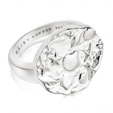 Daisy London Isla Sterling Silver Fossil Ring SSR01_SLV
