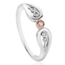 Clogau Royal Crown Diamond Ring 3SRCR02