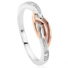Clogau Eternal Love Affinity Diamond Stacking Ring 3SELDSR