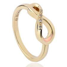 Clogau 9ct Gold Diamond Eternity Ring ETDR4/N