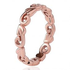 Clogau 9ct Rose Gold Tree Of Life Ring TOLER2/O