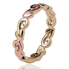 Clogau 9ct Gold Tree Of Life Ring TOLEYR2/P