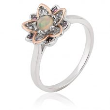 Clogau Lotus Ring 3SLTUR
