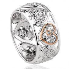 Clogau Tree Of Life One Diamond Ring 3SONR